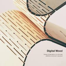 Structural Wood Design A Practice Oriented Approach Digital Wood Design Fabrication Of A Full Scale