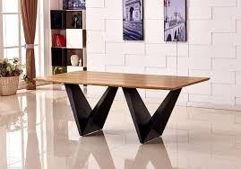 kitchen round dining table designs modern wood and metal room tables dark small with leaf contemporary