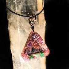 what is a shungite necklace beautiful violet flame orgone necklace emf protection organite pendant