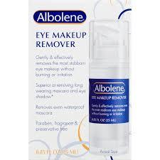 albolene eye makeup remover 0 085 fl oz