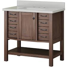 bathroom vanities 36 inch lowes. Allen + Roth Kingscote Espresso Undermount Single Sink Bathroom Vanity With Engineered Stone Top (Common Vanities 36 Inch Lowes B