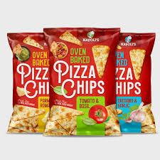 Tesco Lightly Salted Tortilla Chips Gluten Free Pizza Chips Branding Packaging Pivot Marketing Inc