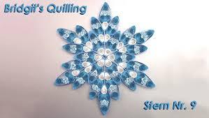 Bridgits Quilling Stern Nr 9 Bridgits Quilling Star No
