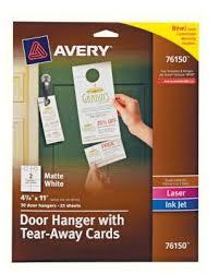 Avery 8383 Avery 8383 Photo Quality Glossy Postcards For Inkjet