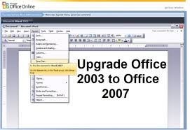 Office 2003 Easy Steps To Upgrade Ms Office 2003 To Office 2007 1
