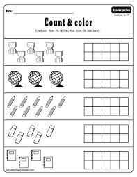 Free Math Worksheets Kindergarten - www.homeschoolingforfree.org