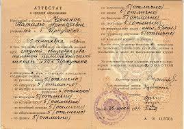 Дубликат аттестата о среднем образовании ru Дубликат аттестата о среднем образовании