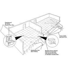 walkerflex modular wiring system wfx legrand walkerflex wiring system ‹ ›