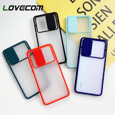 LOVECOM Slide <b>Camera Protection Phone Case</b> For Huawei P40 ...