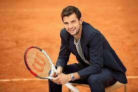 Rising star of italian tennis joins compatriot in advancing, wawrinka and dimitrov depart. Grigor Dimitrov He S The Best Bulgarien Tennis Player I M Bulgarien So I Can Say I M Proud Of Him And He Is Also Dimitrov Tennis Tennis Tennis Professional