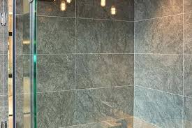 hard water stains on shower glass ways to remove water spots on a stone shower in
