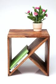 wooden side table simple and wooden project love wood side tables bed outdoor