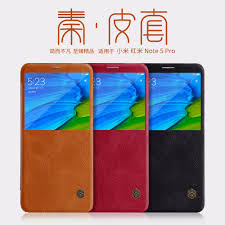 64GB Global version Xiaomi redmi note 5 pro case <b>Nillkin QIN</b> ...