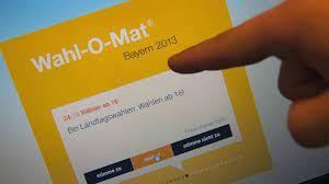 Insgesamt wurde er über 82 millionen. Wahl O Mat Entscheidungshilfe Nicht Nur Fur Jungwahler Br24 Br De