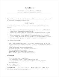 security guard resume objective security guard resume example sample professional resume