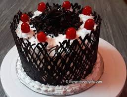 Black Forest Cake No Oven No Eggs How To Make Black Forest Cake