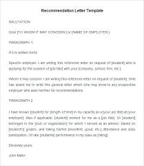 reference letter examples for a job letter of reference writing examples copy great job template best