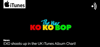 News Exo Shoots Up In The Uk Itunes Album Chart Unitedkpop