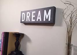 dream wall art canvas wall decor home decor canvas art dream