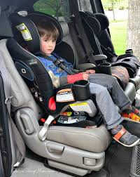 Graco Extend2Fit 3-in-1 Convertible Car Seat forward facing with 4 year old - Oh