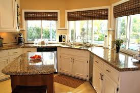 kitchen sink window treatments house plans with home intended for treatment ideas
