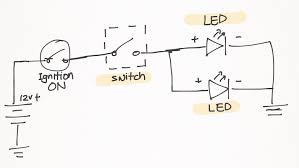 wiring diagram for led fog lights wiring image led fog lights install on my pulsar 200ns ramblings of a on wiring diagram for led