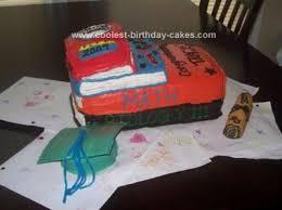 Coolest Book Graduation Cake