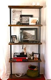 Image of: Industrial Bookcase Design