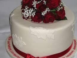 Beautiful Wedding Anniversary Cake With Name Wedding Cakes Wedding