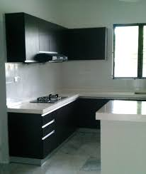 awesome l shaped kitchen layout ideas black laminate l shape kitchen cabinet combine with white