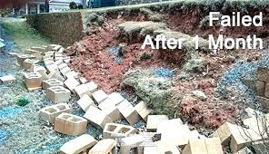 building a cinder block retaining wall cinder block retaining wall building building cinder block retaining wall