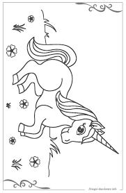 Unicorno Disegni Per Bambini Da Stampare E Colorare Con Disegni