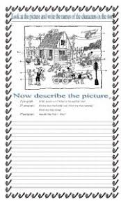 English teaching worksheets  Creative writing Unique Teaching Resources