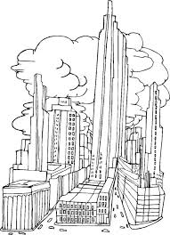 Small Picture New York City Coloring Pages fablesfromthefriendscom