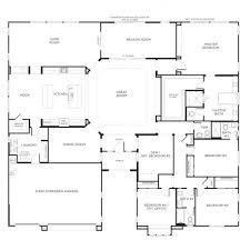 floor plan of a one story house. Wonderful Plan Nice Home Designs  Single Story Floor Plans One House Pardee  Homes In Plan Of A U