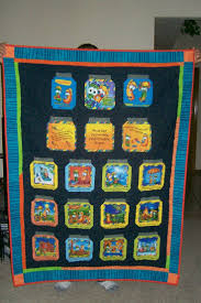 83 best Fruit and Veggie Quilts images on Pinterest | Hearts, Bags ... & Veggie Tales jar quilt for WMC'S . Adamdwight.com