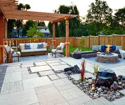 Garden Design With Backyard Patio Design Ideas House Uamp Home With  Inexpensive Landscaping Ideas From Houseandhome Best Patio Designs
