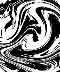 Abstract Art Black And White Patterns Abstract Circles Waves Black White Minimalist Art Print No 39