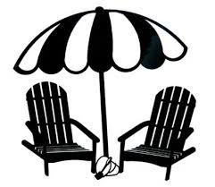 back of beach chair silhouette. Beach Chair Silhouette Clip Art (28+) Inside Back Of Penaime