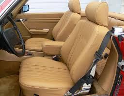 mercedes sl seats