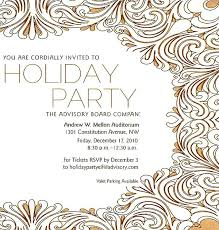 Corporate Holiday Party Invitation Wording Samples Office Invite By