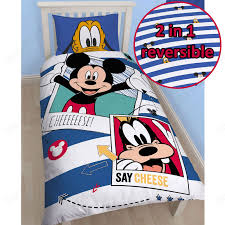 Minnie Mouse Bedroom Curtains Disney Mickey Or Minnie Mouse Single Duvet Cover Sets Kids Bedroom