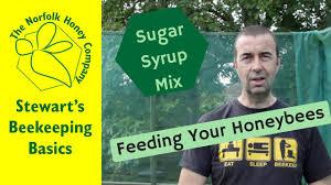 Beekeeping Basics How To Make Sugar Syrup Honeybee Feed The Norfolk Honey Co