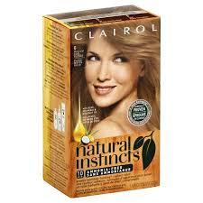 Clairol Natural Instincts 06 Linen Medium Ash Blonde Non Permanent Color 1 0 Kit