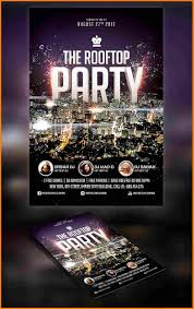 How To Create A Party Flyer 14 How To Make Party Flyers Fax Coversheet