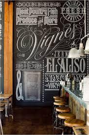 Kitchen Accessories, Large Decorative Chalkboard For Kitchen On Varnished  Hardwood Kitchen Flooring Facing Stainless Steel ...
