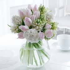 tulips hyacinths