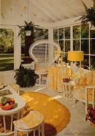 1970s interior design. Fine Interior 1970s Yellow Porch For Interior Design