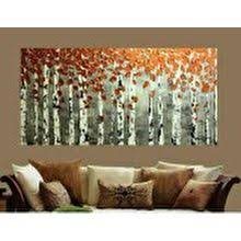 barocco leaves tree hand painted landscape oil painting modern simple home wall art decoration on wall art painting singapore with paintings the best prices online in singapore iprice