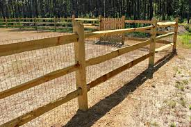 Split rail wood fence gate Western Red Seegars Fence Company Residential Farm Ranch Fence Installations Custom Fences Gates